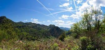 Региональный природный парк лазурного PreAlps Стоковое Изображение RF