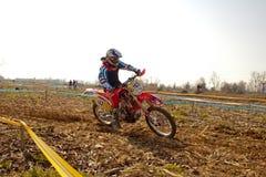 Регионарный чемпионат Enduro стоковое фото
