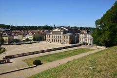 Региональный театр (Landestheather) в Кобурге, Германии Стоковое Фото