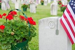 Регистрационные номера собаки на надгробной плите Стоковые Фото