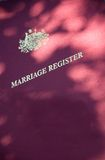 регистр замужества Стоковая Фотография RF