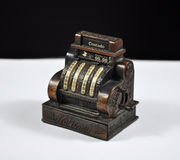 регистр наличных дег старый Стоковая Фотография