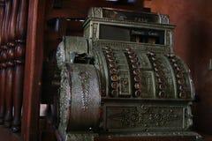 регистр наличных дег старый Стоковое Изображение