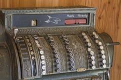 регистр наличных дег старый Стоковые Фотографии RF