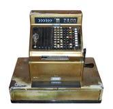 регистр фасонируемый наличными деньгами старый Стоковое Фото