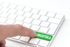 регистр стоковая фотография rf