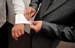 регулировать втулку человека тумака Стоковые Фотографии RF
