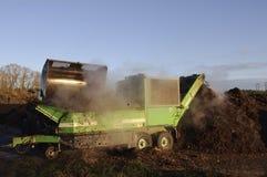 регулировать компоста промышленный Стоковые Изображения