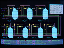 регулировка энергии Стоковые Изображения RF