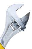 регулируемый ключ взгляда гаечного ключа макроса Стоковое фото RF