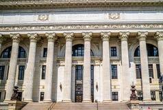 Регулирующий отдел который расквартировывает тесты государства в Albany, Нью-Йорке стоковые изображения rf