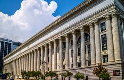 Регулирующий отдел который расквартировывает тесты государства в Albany, Нью-Йорке стоковое изображение