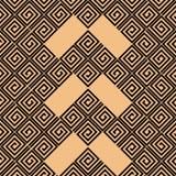 Регулярн абстрактная безшовная картина Стоковая Фотография RF