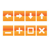 Регулярн кнопки Стоковые Фотографии RF