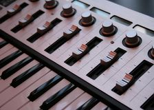 Регулятор клавиатуры стоковое изображение rf