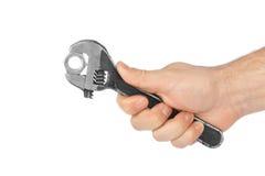 регулируемый гаечный ключ руки Стоковые Изображения RF