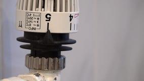 Регулирующ радиатор (различные сцены) видеоматериал