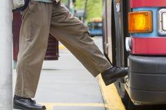 Регулярный пассажир пригородных поездов общественного транспорта Стоковое Изображение