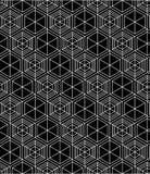 Регулярн контраст текстурировал бесконечную картину с кубами, непрерывными иллюстрация штока