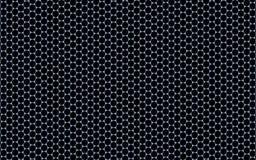 регулярн шестиугольная картина 3D (Graphene) иллюстрация вектора