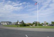Редакционное Montauk, зеленый цвет деревни Нью-Йорка Стоковые Изображения RF