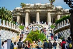 редакционо Май 2018 barcelona Испания Главная лестница на ent стоковые изображения rf