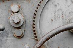Режимы, колеса, шестерни старого карамболя стоковая фотография