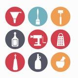 Режущие инструменты для кухни Стоковое Изображение RF