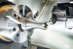 Режущий инструмент на деятельности металла Стоковое Изображение RF