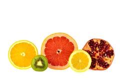 Резать половину плодоовощ Стоковое Фото