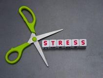 Резать стресс Стоковые Фото