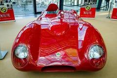 Резвит лотос 11 Stanguellini гоночного автомобиля, 1957 Стоковая Фотография