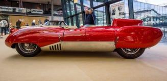 Резвит лотос 11 Stanguellini гоночного автомобиля, 1957 Стоковое Изображение