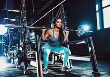 Резвит тренировка женщины Стоковые Фотографии RF