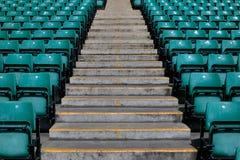 резвит шаги стадиона Стоковая Фотография RF