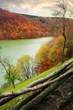 Резервуар воды на реке Tereblya стоковые изображения rf