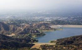 Резервуар в горах Лос-Анджелеса Стоковые Фото