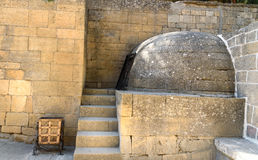Резервуар в крепости Naryn-Kala Derbent стоковые фото
