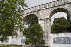 Резервуар Amoreiras gua  Mãe D'à Стоковые Изображения