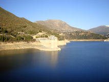 Резервуар Canales, ¼ ejar Сьерра GÃ, сьерра-невада, Испания Стоковое Изображение