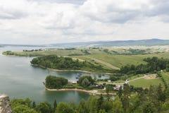 Резервуар Czorsztyn Стоковое Изображение