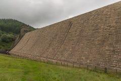 Резервуар Derwent в верхней долине Derwent Стоковые Изображения