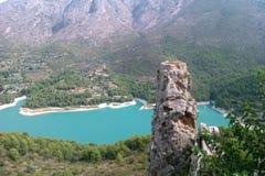 Резервуар Guadalest, Испании Стоковое Изображение RF