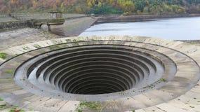 Резервуар Ladybower, Дербишир стоковые фотографии rf