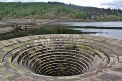 Резервуар Ladybower, долина надежды Стоковые Изображения RF