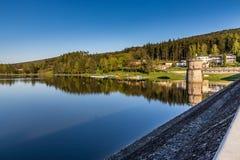 Резервуар Luhacovice - Pozlovice, чехия Стоковая Фотография