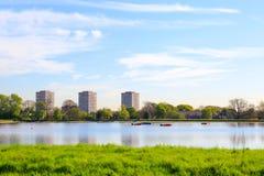 Резервуар Newington запаса западный, Hackney, Лондон Стоковые Изображения