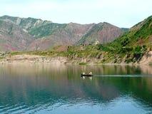 Резервуар Nurek стоковое изображение rf
