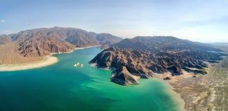 Резервуар Orto Tokoy в Кыргызстане принятом в августе 2018 стоковая фотография