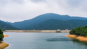 Резервуар Tai Tam в Mount Parker, Гонконге стоковое фото rf